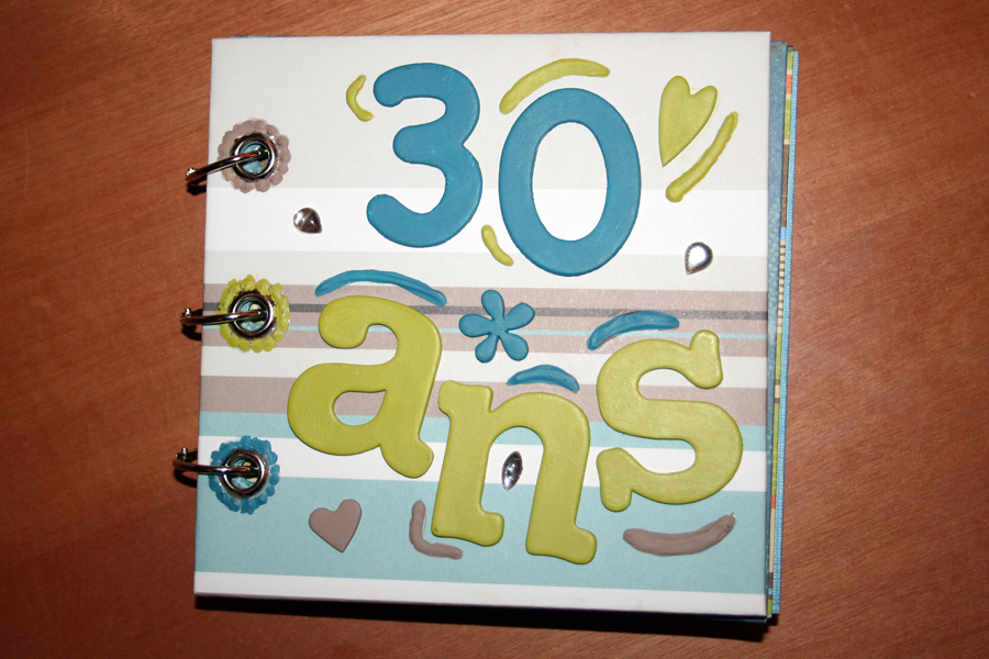 album scrapbooking 30 ans