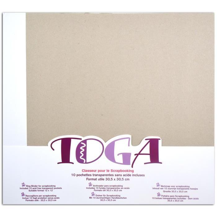album scrapbooking 30x30 toga