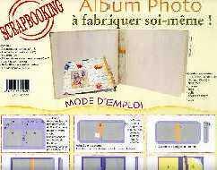 album scrapbooking a faire