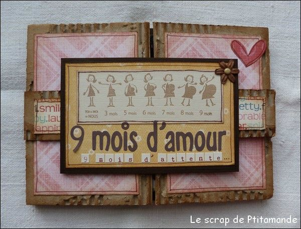 album scrapbooking amour
