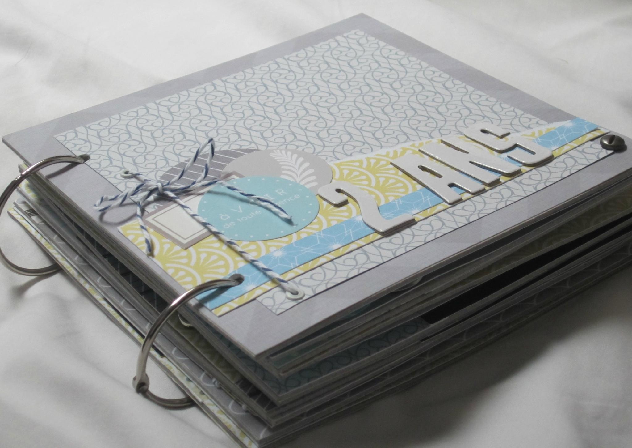 album scrapbooking anneaux
