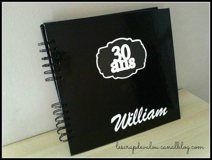 album scrapbooking anniversaire 30 ans