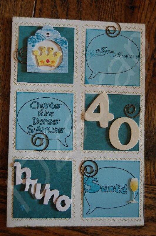album scrapbooking anniversaire 40 ans