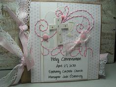 album scrapbooking communion