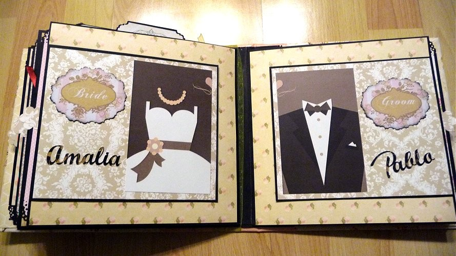 album scrapbooking de boda