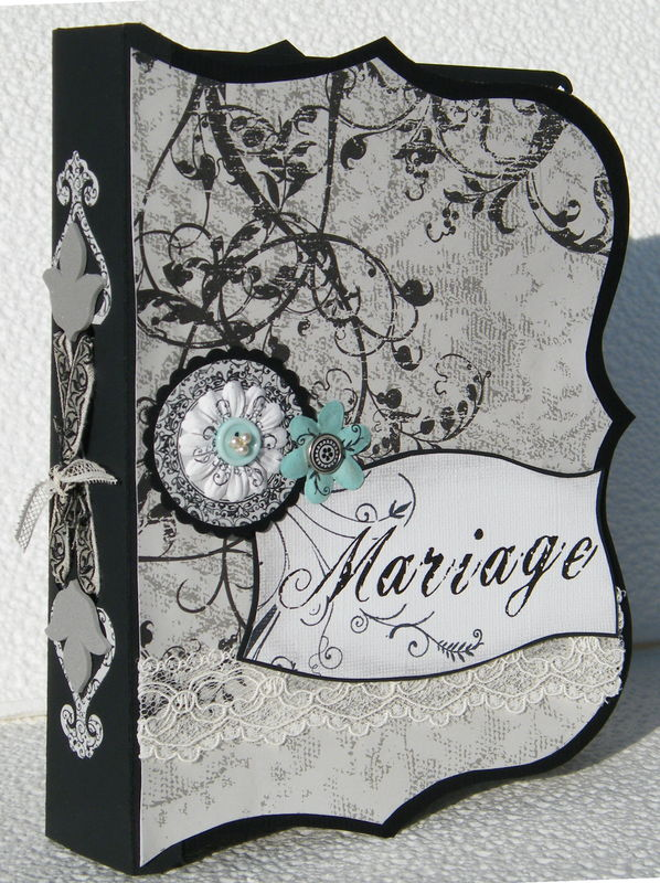 album scrapbooking de mariage
