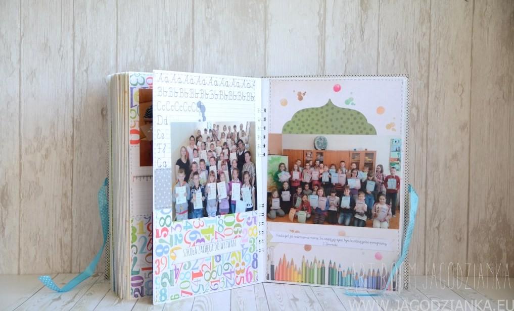album scrapbooking dla nauczyciela