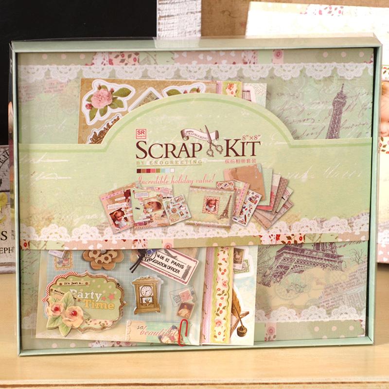 album scrapbooking en kit