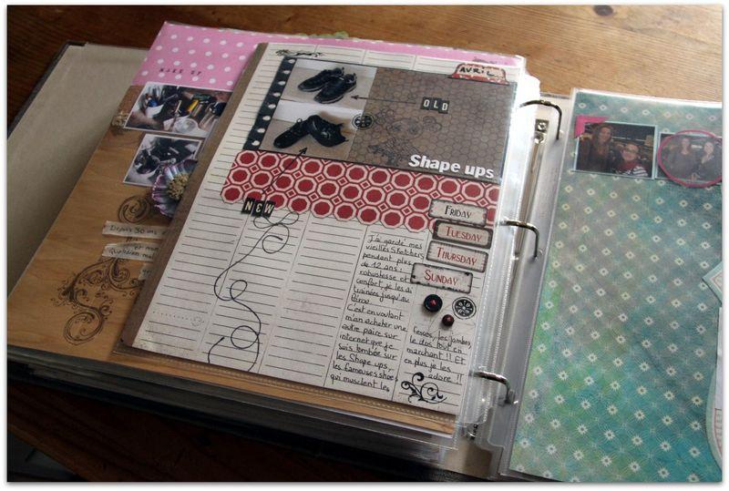 album scrapbooking format a4