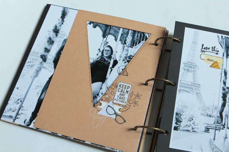 album scrapbooking grand format