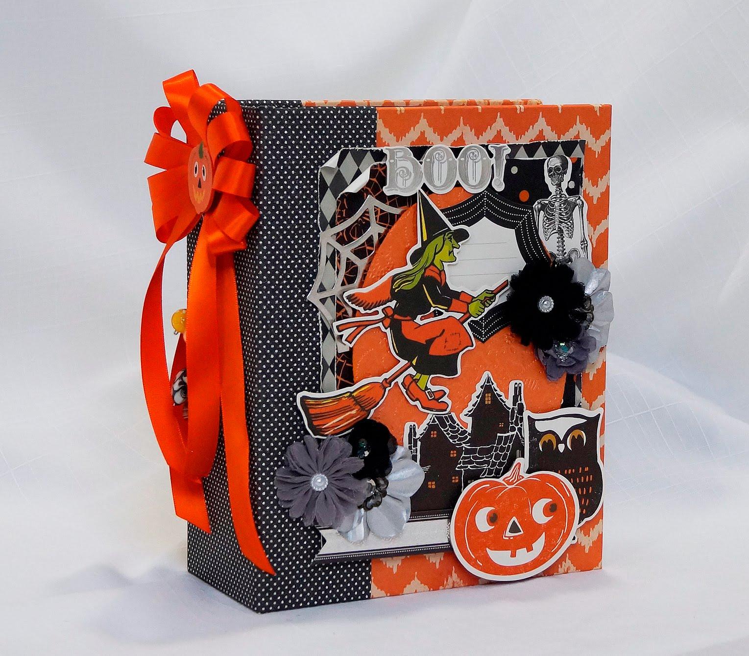 album scrapbooking halloween