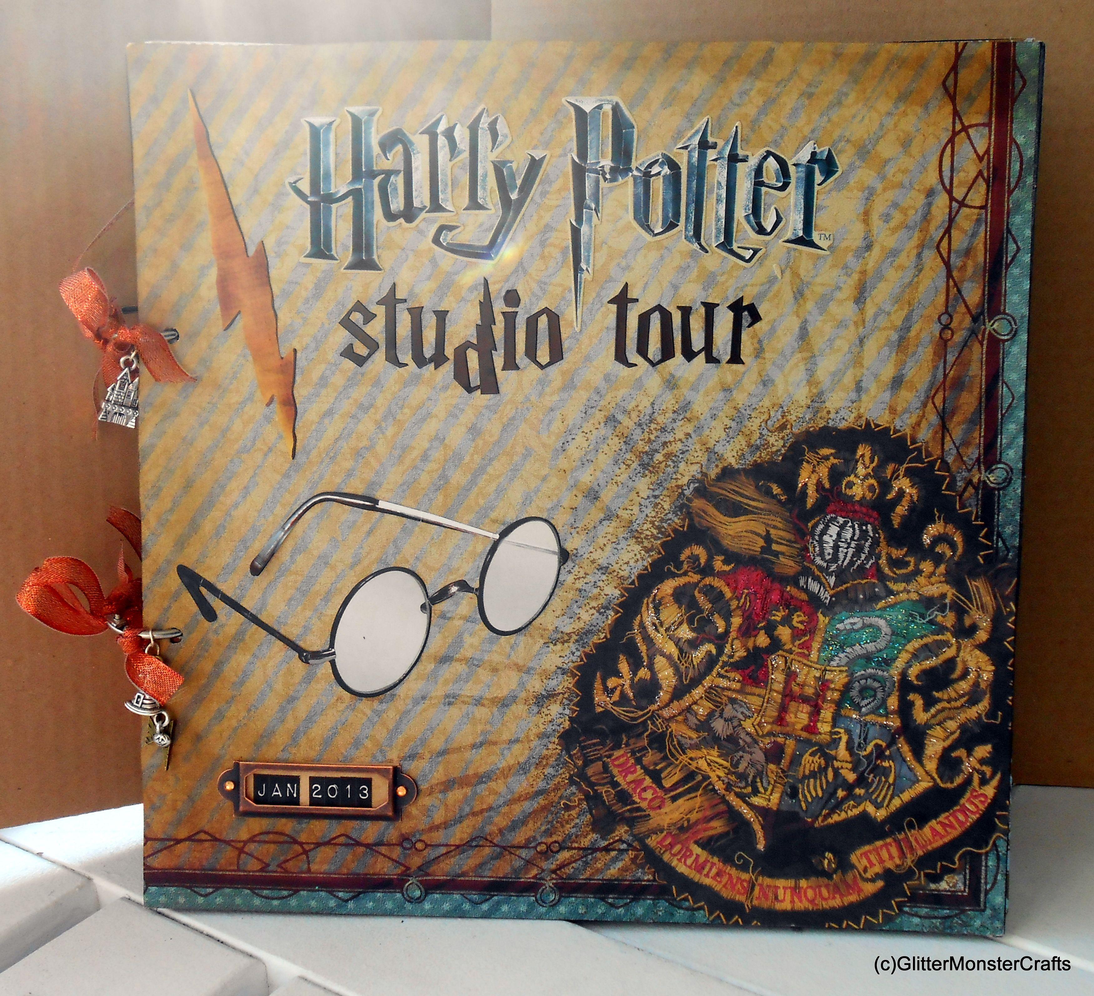 album scrapbooking harry potter
