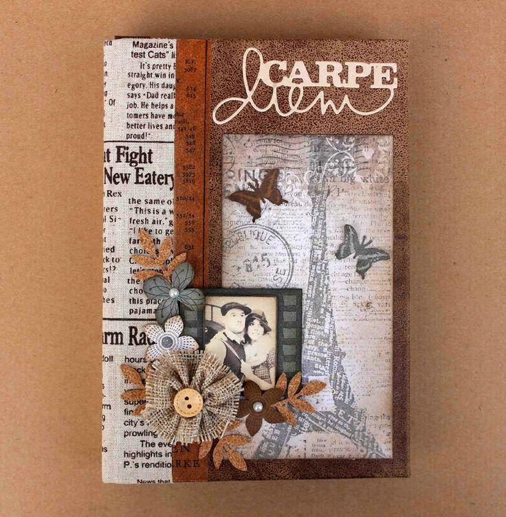 album scrapbooking jaki papier