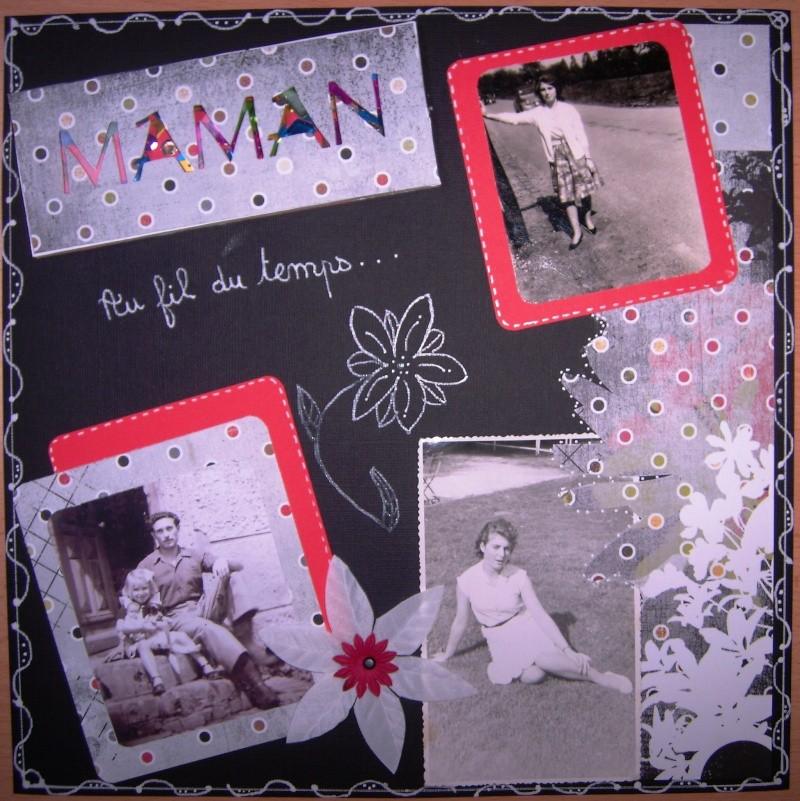 album scrapbooking maman
