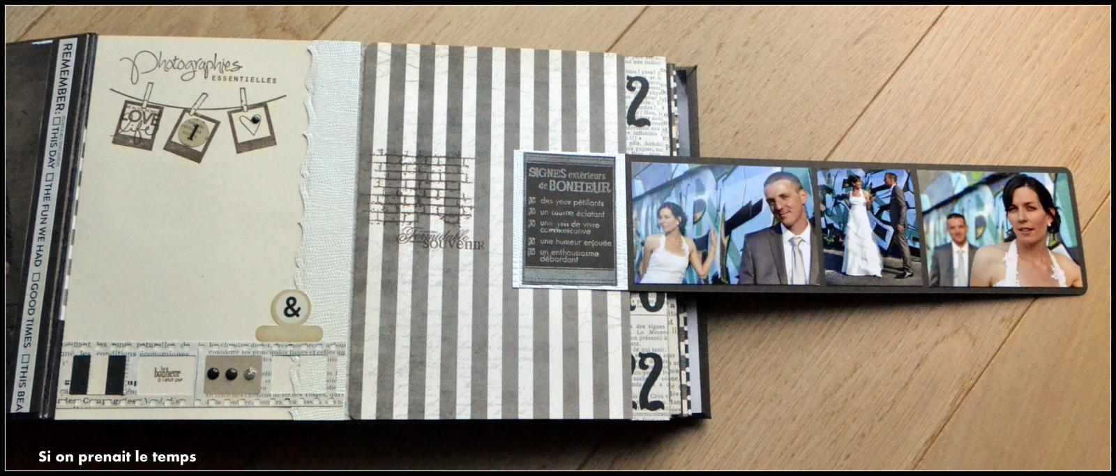 album scrapbooking mariage