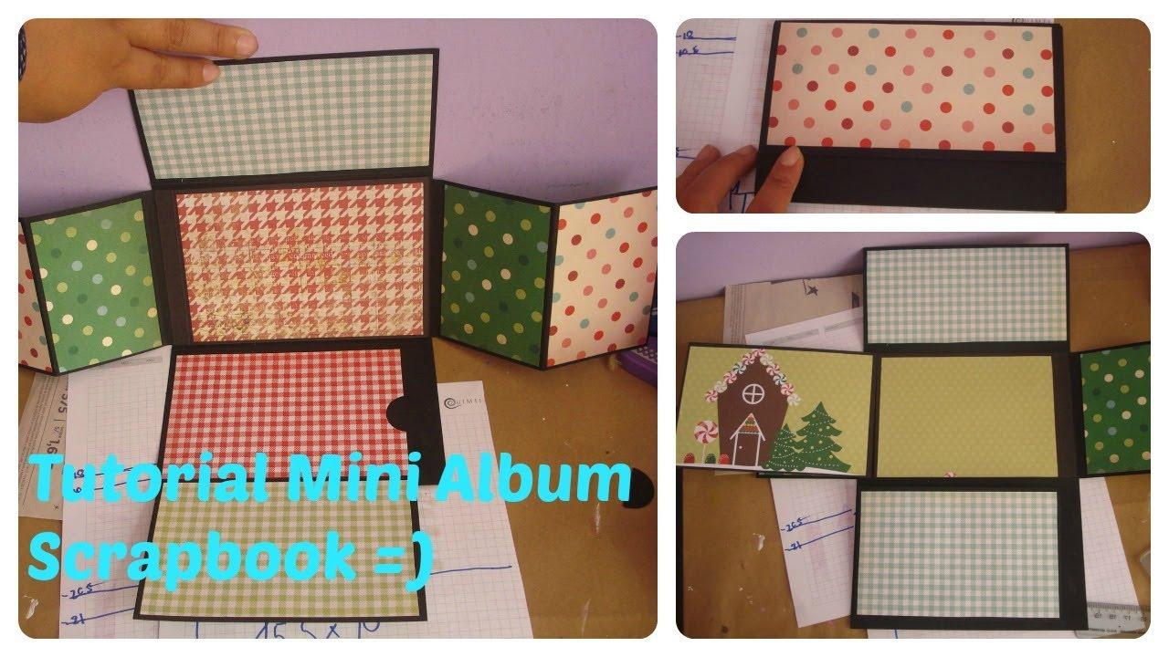 album scrapbooking mini