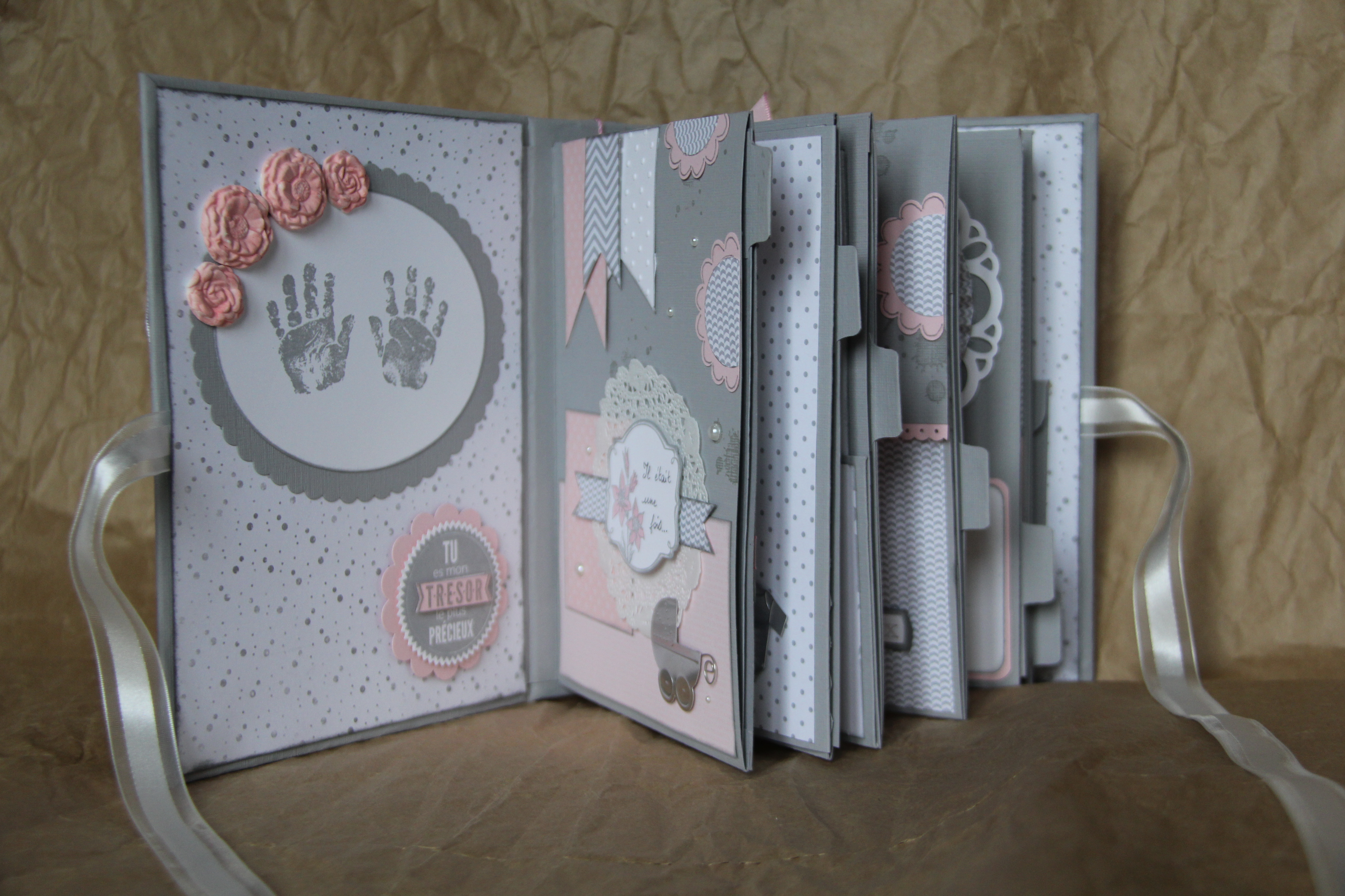album scrapbooking naissance garcon