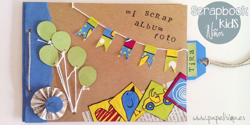 album scrapbooking nino