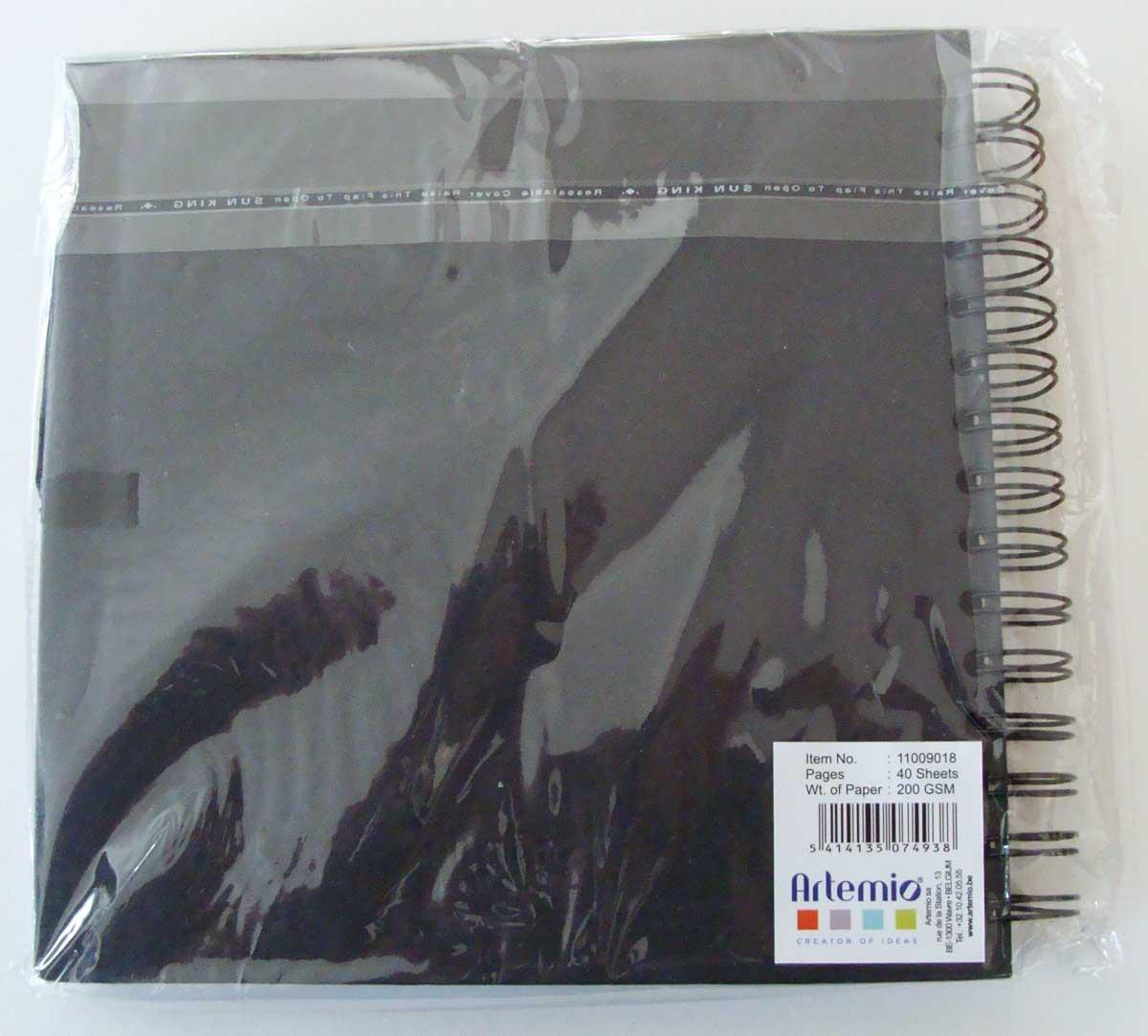 album scrapbooking pages noires