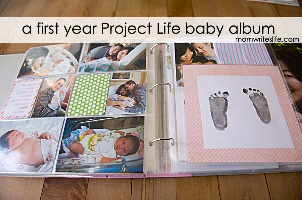 album scrapbooking project life