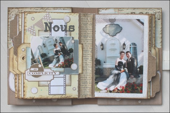 album scrapbooking quebec