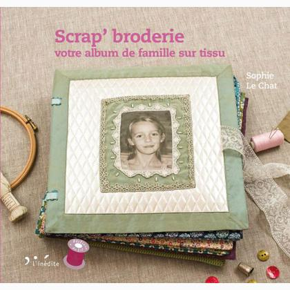 album scrapbooking tissu
