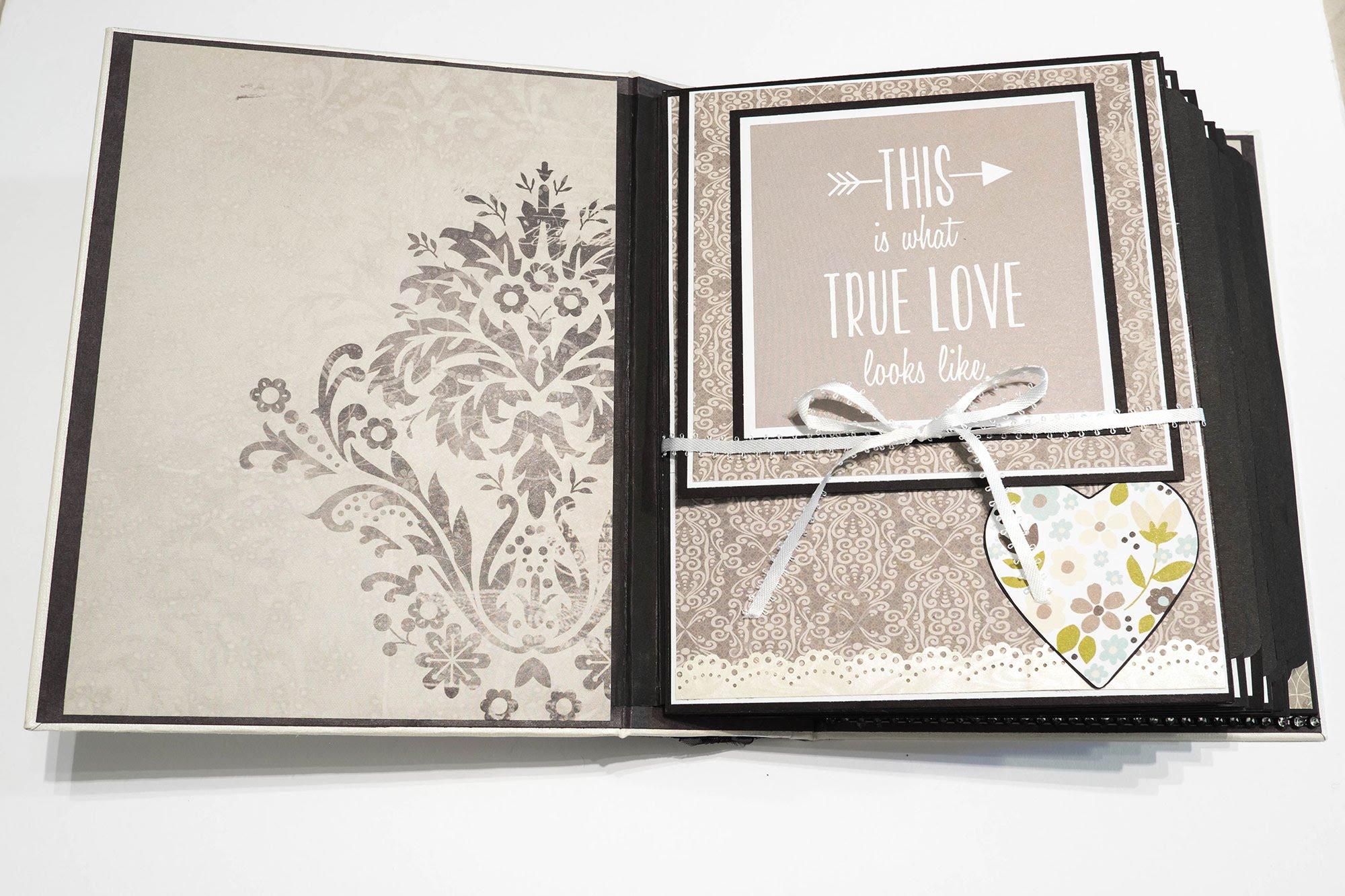 album scrapbooking wedding