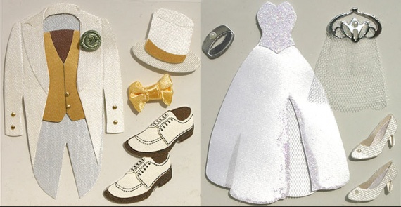 materiel scrapbooking mariage