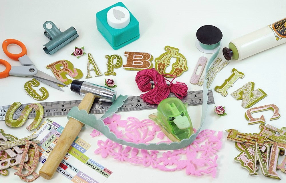materiel scrapbooking occasion