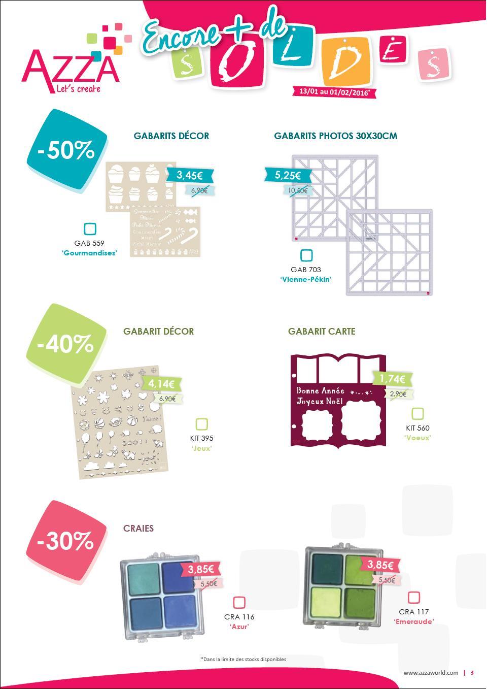 materiel scrapbooking soldes