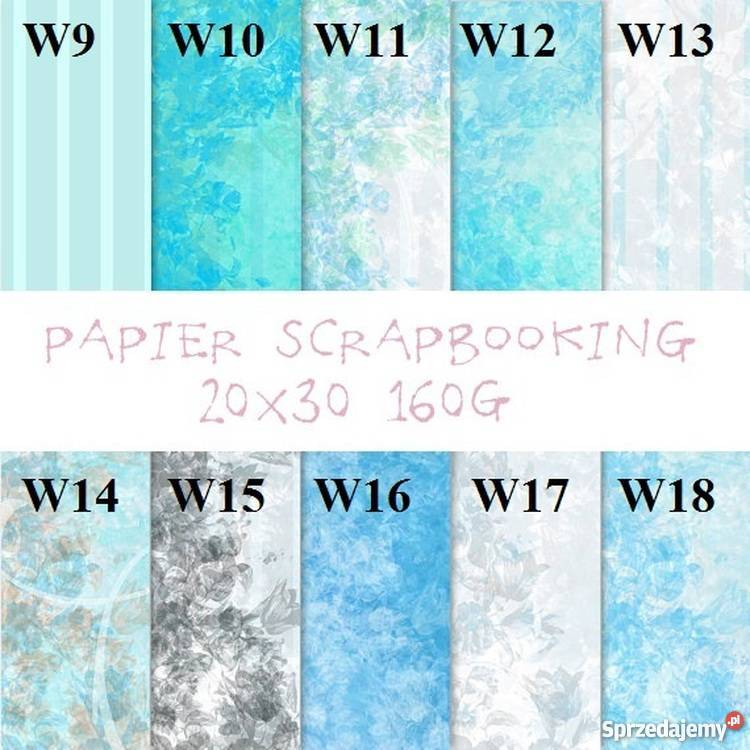 papier scrapbooking 160g