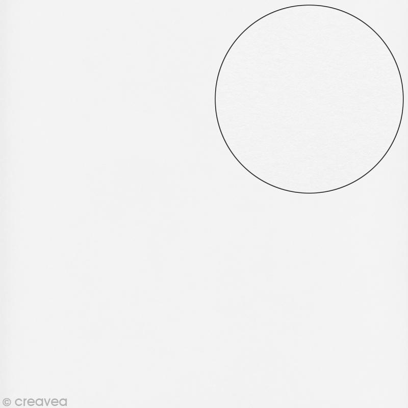papier scrapbooking 30x30 blanc