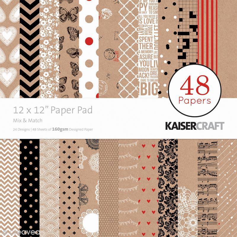 papier scrapbooking 30x30
