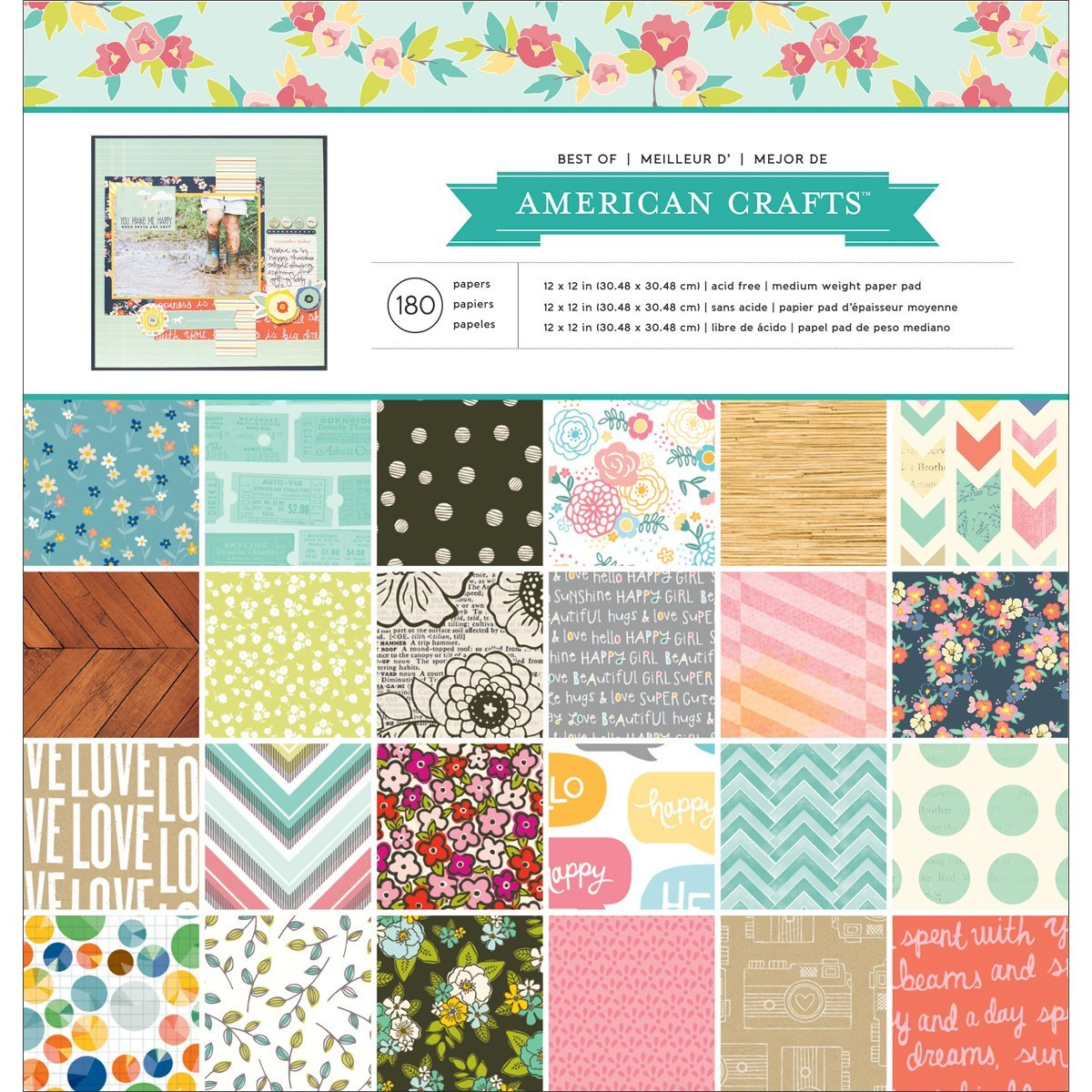 papier scrapbooking american craft
