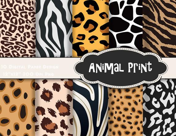 papier scrapbooking animaux