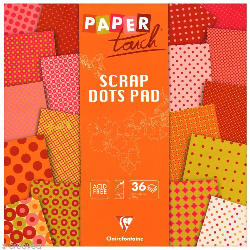 papier scrapbooking clairefontaine