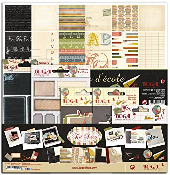 papier scrapbooking cuisine