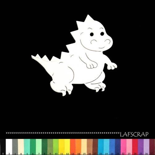 papier scrapbooking dinosaure