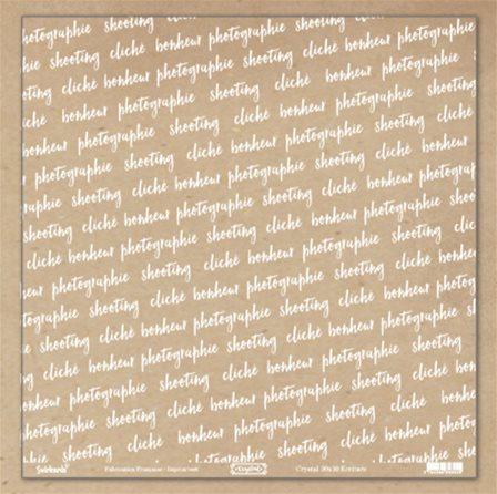papier scrapbooking ecriture