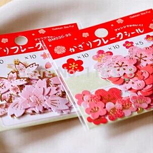 papier scrapbooking fleur de cerisier