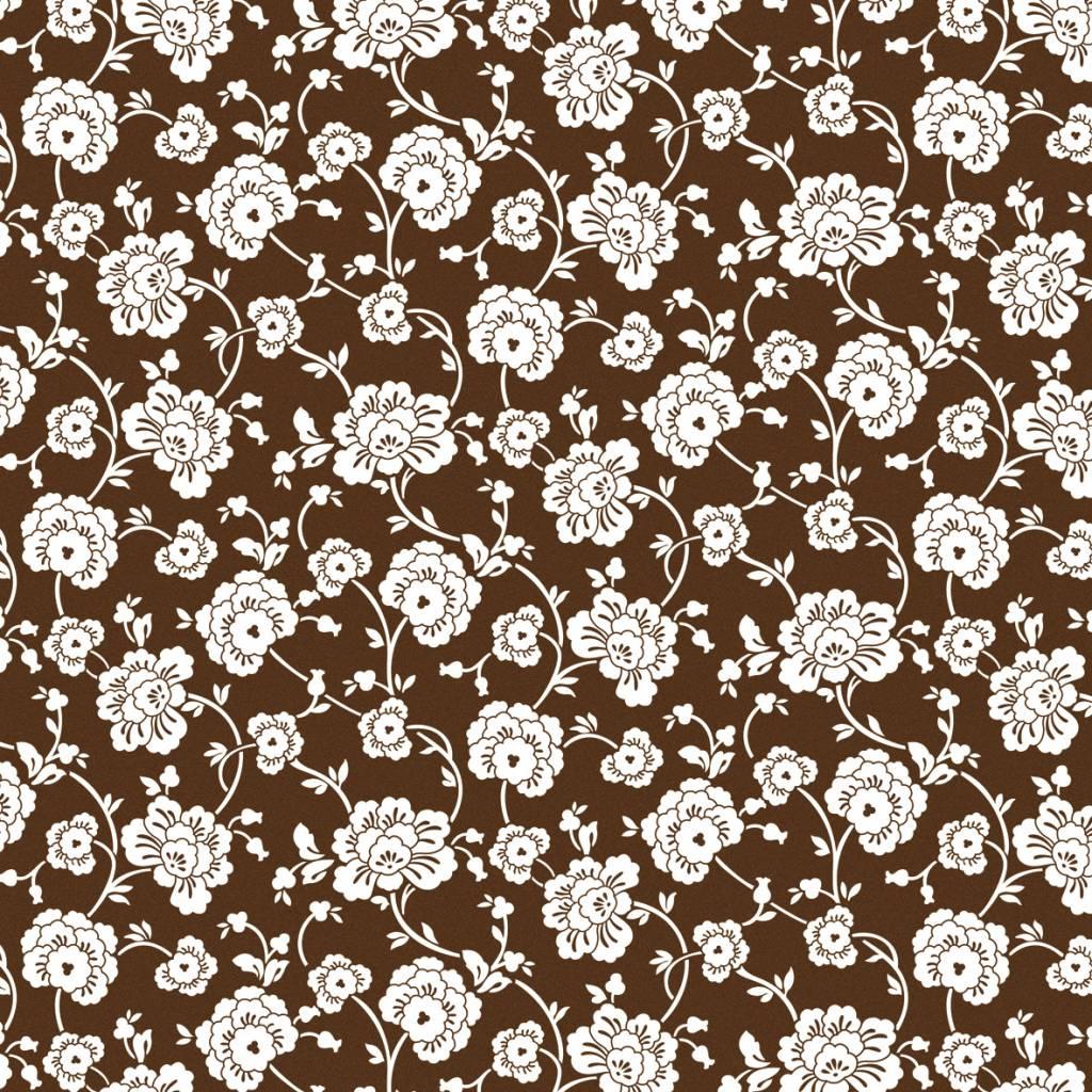 papier scrapbooking floral