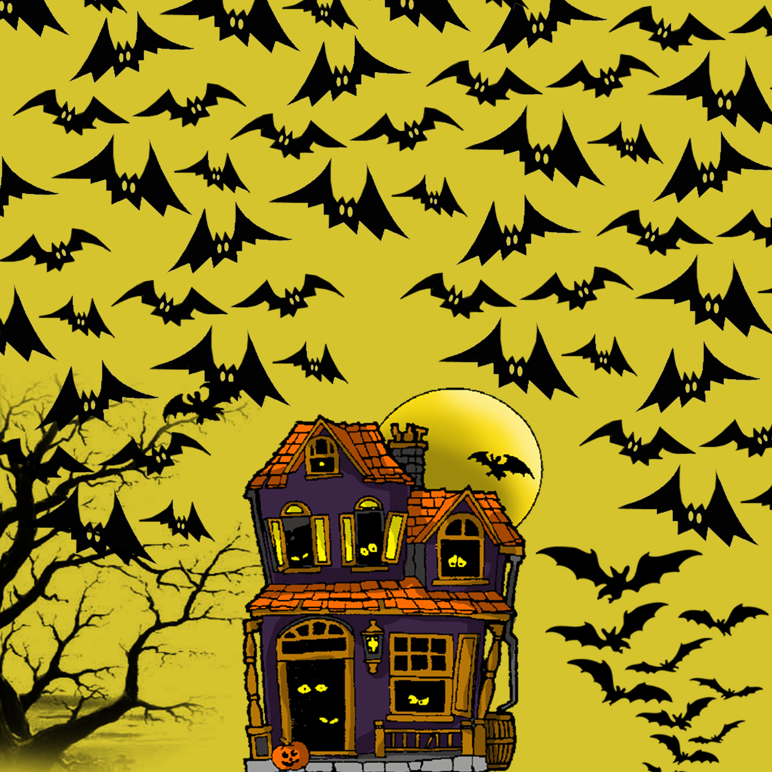 papier scrapbooking halloween