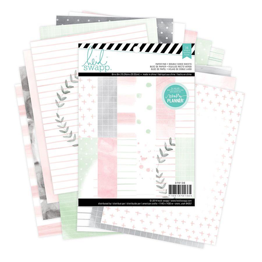 papier scrapbooking heidi swapp