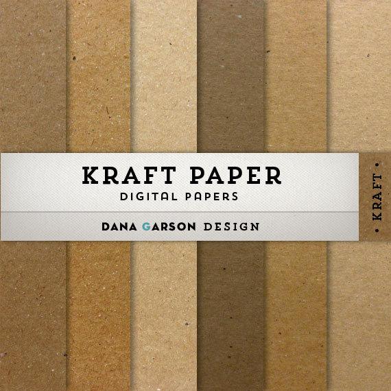 papier scrapbooking kraft