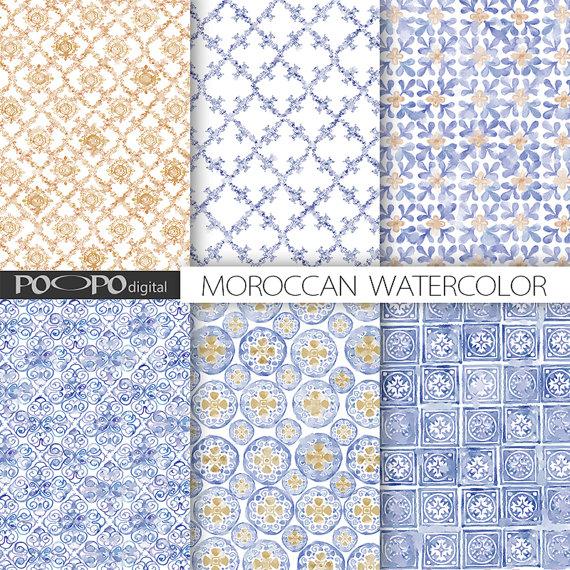 papier scrapbooking maroc