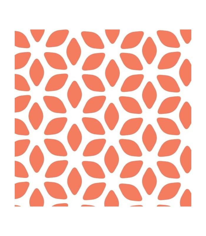 papier scrapbooking orange