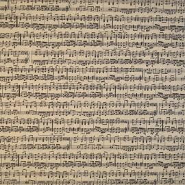 papier scrapbooking partition musique