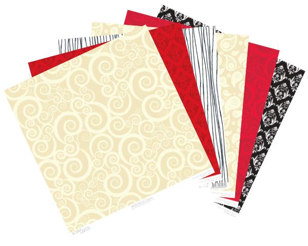 papier scrapbooking pour mariage