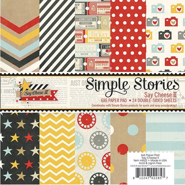 papier scrapbooking simple stories