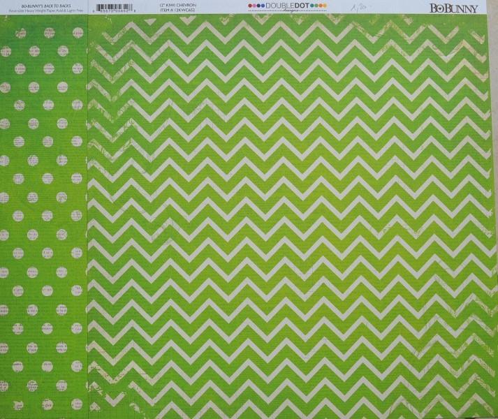 papier scrapbooking vert
